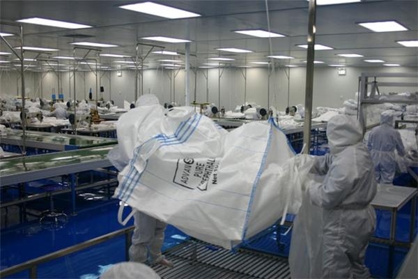 集装箱内衬袋等成品外观尺寸抽样规定及各部件尺寸要求