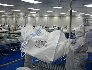 集装袋检验过程